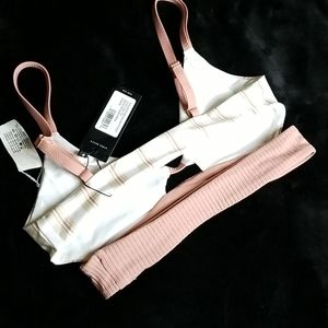 Tavik Swim - NWT Tavik Juliet Bikini top tapioca stripe